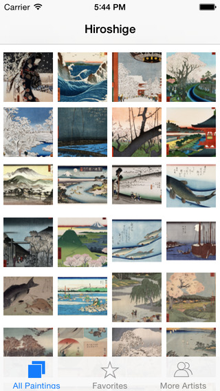 Hiroshige 154 Paintings HD 150M+