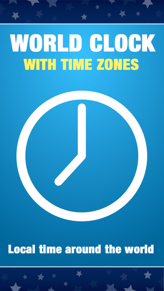 World Time Clock with Time Zone Converter