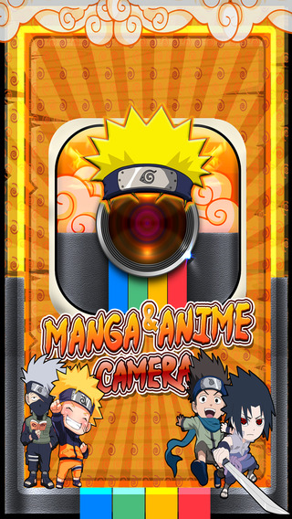 Manga Anime Sticker Camera -