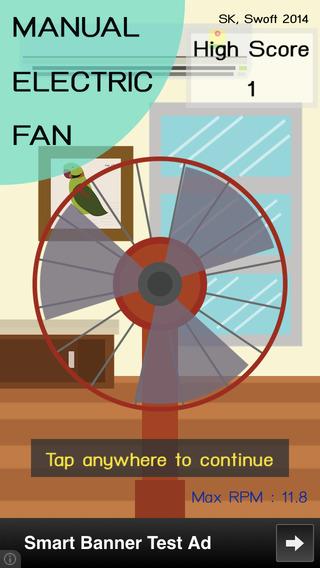 Manual Electric Fan