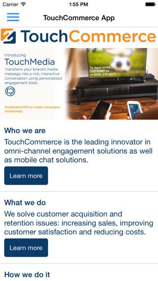 TouchCommerce App