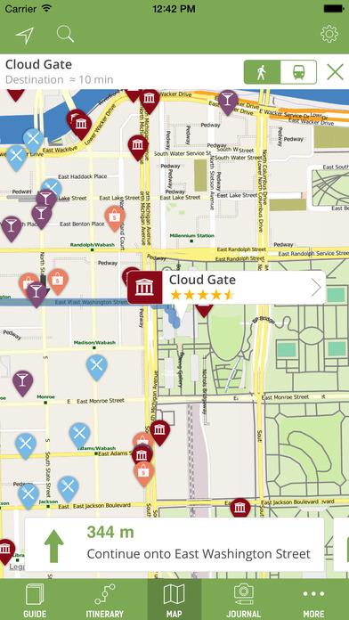 Chicago Travel Guide - mTrip iPhone Screenshot 3