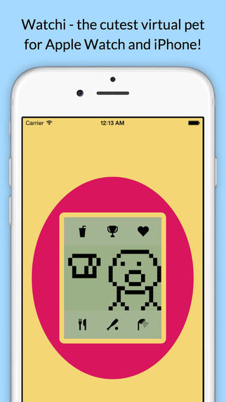 Watchi - Virtual Pet for Wrist and Pocket