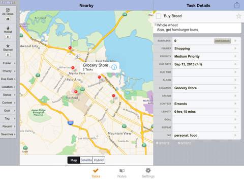 دانلود نرم افزار Toodledo برای آیفون ، آیپاد تاچ و آیپد - تصویر 1