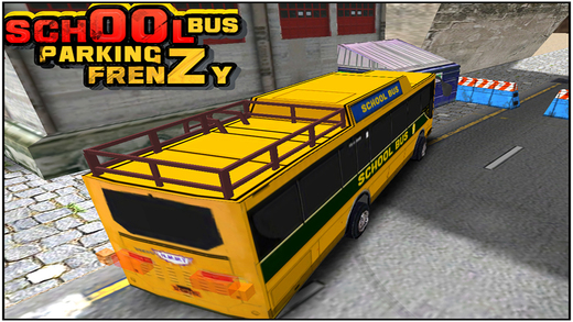 School Bus Parking Frenzy 3D Simulation Game