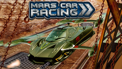 Mars Bike Space Race Extreme Car Racing Game