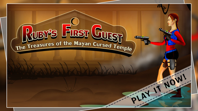 Ruby's First Quest : The Treasures of the Mayan Cursed Temple - Gold