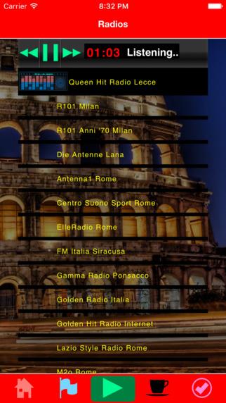 Notizie e radio italiane Screenshots
