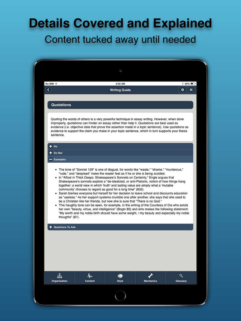 best ipad app for writing college papers