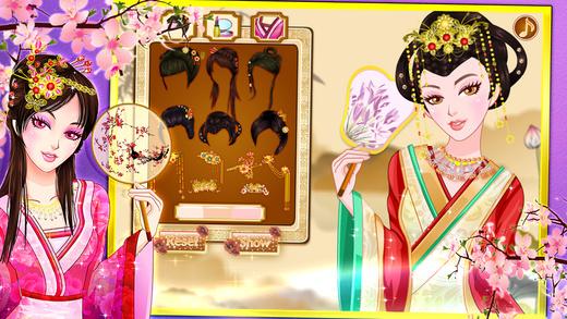 Chinese princess dressup 2015
