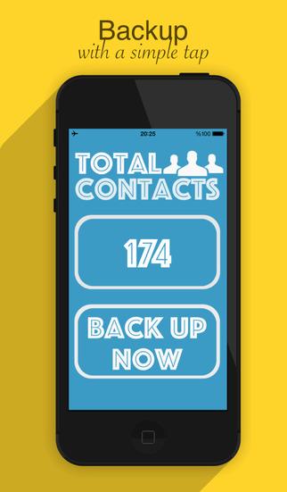 Quick Contact Backup