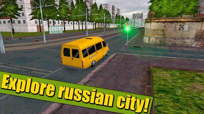 Russian Minibus Simulator 3D Full screenshot 4