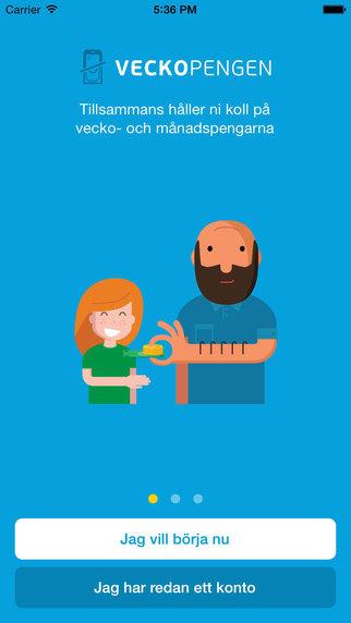 Veckopengen – för barn och föräldrar