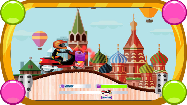 Motorbike Racing In Moscow