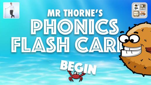 Mr Thorne's Phonics Flash Cards