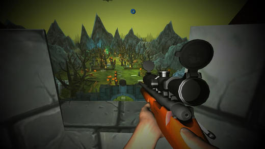 Pumpkin Zombie Sniper 3D Halloween Castle Defence