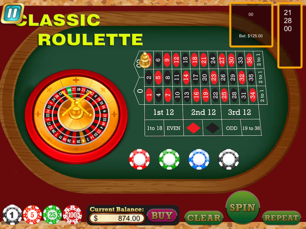 Roulette all in