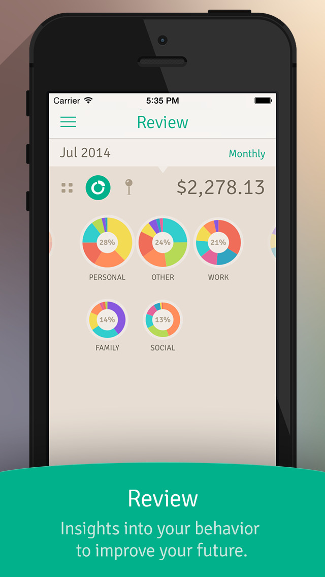 Wally - Smart Personal Finance screenshot