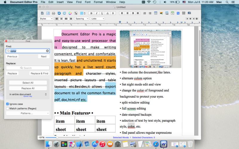 Document Editor Pro Screenshot - 4