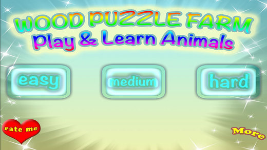 Farm Wood Puzzle Match Game