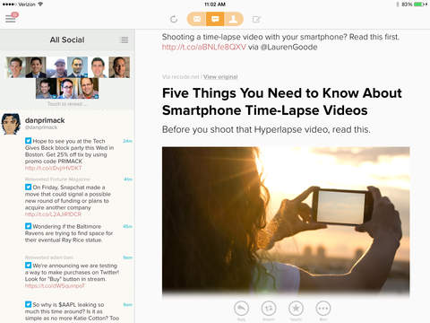 玩免費生產應用APP|下載Cloze - Inbox and Contact Manager for Twitter, Facebook, LinkedIn, and Email app不用錢|硬是要APP