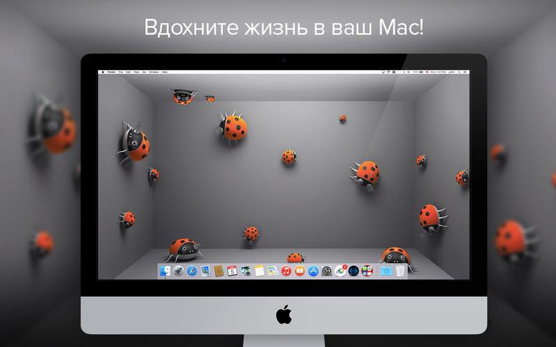 Обои - Яркие HD фоны, картинки и заставки, анимированные виджеты часов для вашего дисплея скриншот программы 1