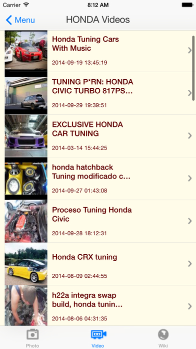 iTunedCars iPhone Screenshot 4