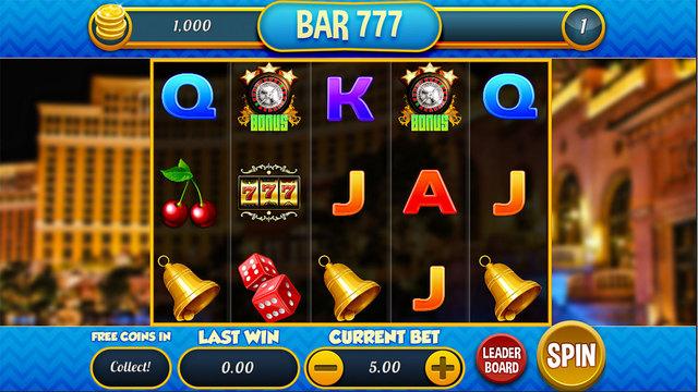 BAR 777 - Free Casino Slots Game