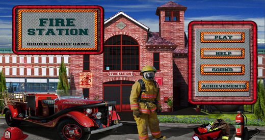 Fire Station - Free Hidden Object Games