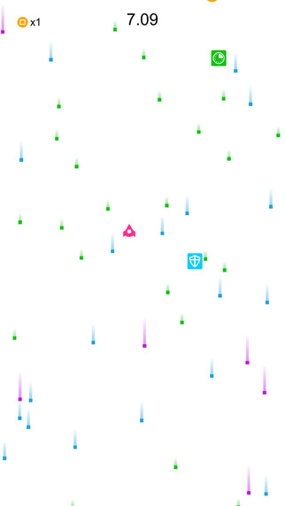 Square Blast save your ship from box storm attack strike