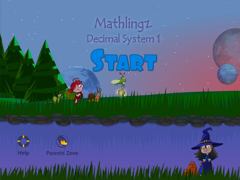 Mathlingz Decimal System 1 - Educational Math Game for Kids