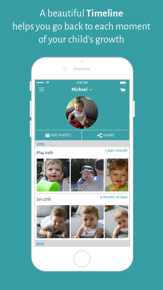 Memom – Photo Journal and Photo Collage to Privately Preserve and Share Your Baby Photos