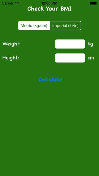 My BMI Please