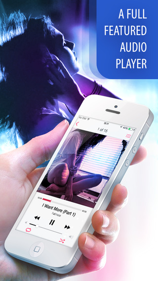 Music for iPhone PRO - Play Mp3 Songs Playlist Manager