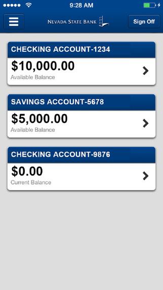 Nevada State Bank Mobile Banking