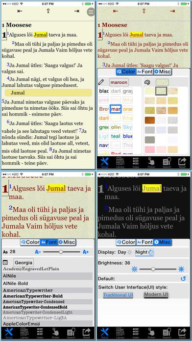 Piibel(Estonian Bible) iPhone Screenshot 1