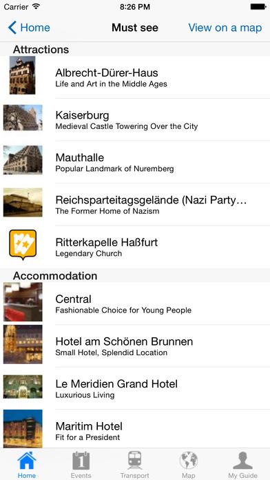 Nuremberg Travel Guide Offline iPhone Screenshot 4