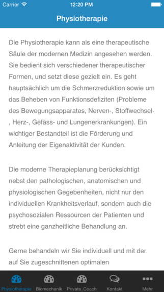 Physiotherapie Bähler