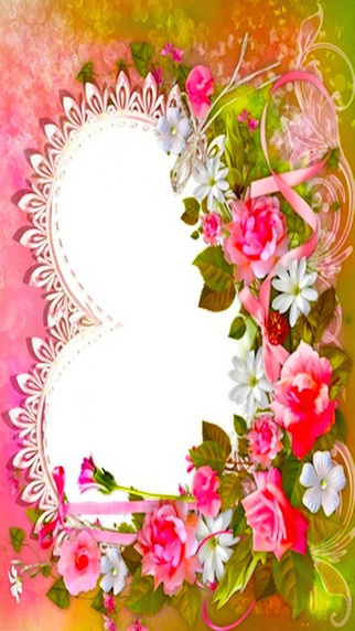 Romantic Love Frames Exquisite