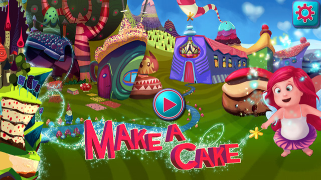 Make a Cake - Cooking Games for kids