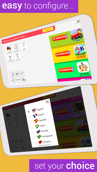 Montessori for kids, A preschool game to teach your child the basic learning Screenshots