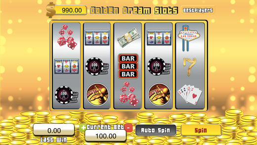 Absolut Golden Dream Slots - Ace Slot Machine Master
