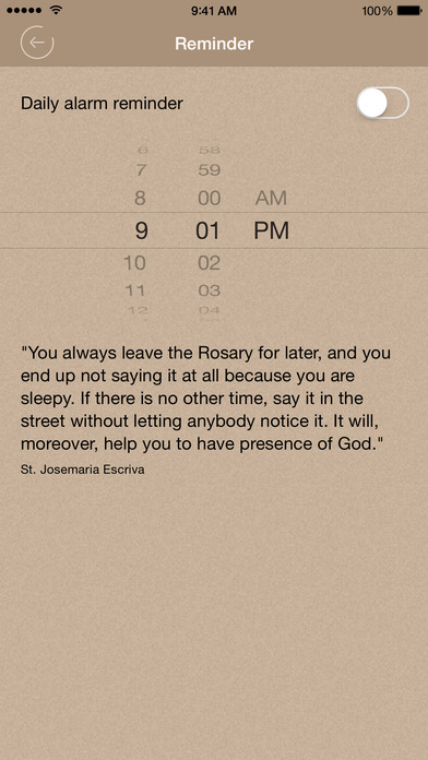 Scriptural Rosary iPhone Screenshot 5