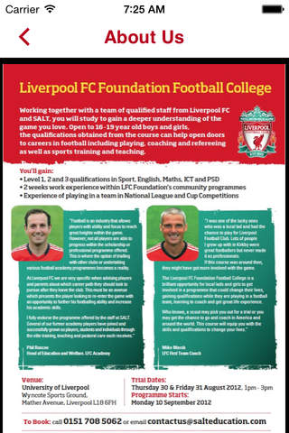 LFC Foundation College screenshot 3
