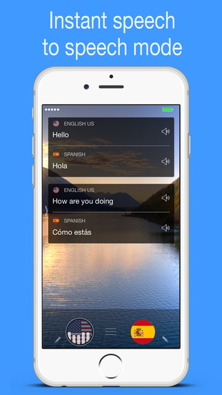 myTranslator.io: Real Time Language and Text Translator with Speech and Dictionary Screenshots