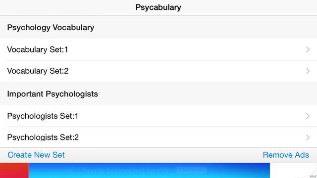 Psycabulary