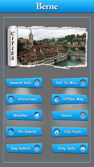 Berne Offline Map Travel Guide