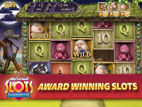Mirrorball Slots Mobile Edition screenshot 2