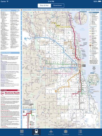 Chicago Offline Map - City Metro Airport Screenshots