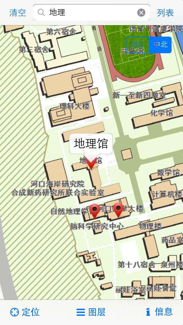 华东师范大学校园地图
